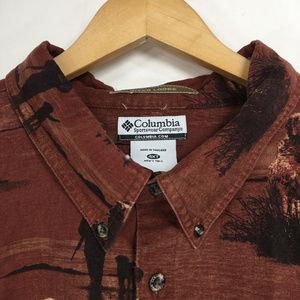 Columbia Shirts - Columbia 4XT Shirt Button Down Front River Lodge